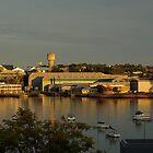 Cockatoo Island Morning by Nick Wilsher
