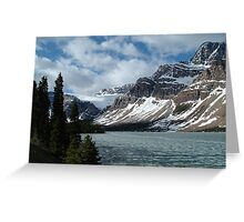 Bow Lake, Alberta Greeting Card
