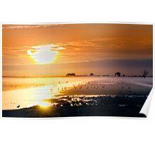 Good morning polder Poster