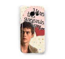 The Maze Runner Greeting Cards [Thomas] Samsung Galaxy Case/Skin