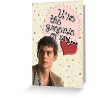 The Maze Runner Greeting Cards [Thomas] Greeting Card