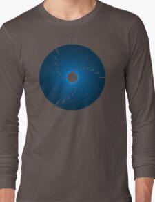 Circles - Blue Long Sleeve T-Shirt