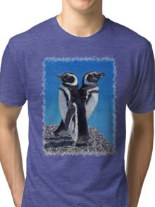 Cute Penguins T-Shirt Tri-blend T-Shirt