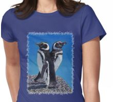 Cute Penguins T-Shirt Womens Fitted T-Shirt