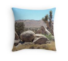 Joshua Tree In July Throw Pillow