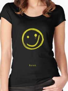 Bored. Women's Fitted Scoop T-Shirt