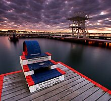 Eastern Beach Swimming Enclosure at Geelong by Darren Stones