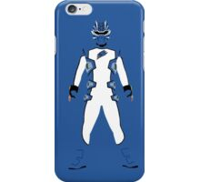 Power Rangers Jungle Fury Blue Ranger iPhone Case iPhone Case/Skin