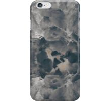 Gray Geode iPhone Case/Skin