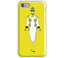 Power Rangers Jungle Fury Yellow Ranger iPhone Case iPhone Case/Skin
