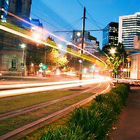 Tram Lights by Jason Charlton