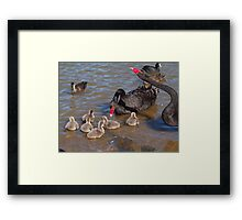 The Happy Family. Framed Print