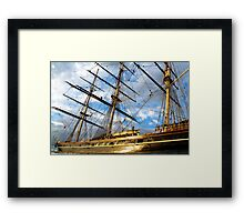 CUTTY SARK GREENWICH LONDON Framed Print