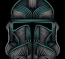 Clone Trooper helmet by borjafernandez