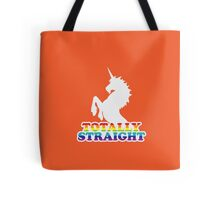 Totally Straight Tote Bag