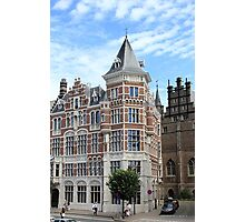 Amazing Antwerpen architecture Photographic Print