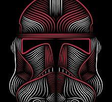 Clone Trooper red by borjafernandez
