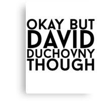 David Duchovny Canvas Print