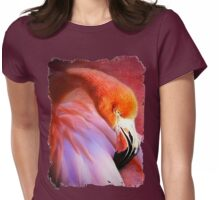 Softly sleeping Womens Fitted T-Shirt