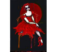 Dark Diva Photographic Print