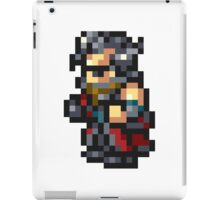 Auron sprite - FFRK - Final Fantasy X (FF10) iPad Case/Skin
