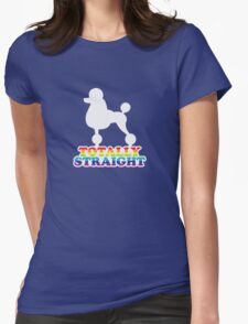 Totally Straight: Manservant Womens Fitted T-Shirt