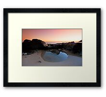 The Tidal Pool - Noosa Qld. Framed Print
