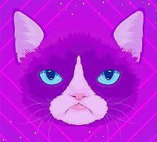 Grumpy cat by ohwow