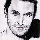 Richard Armitage portrait by jos2507