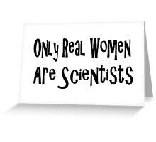 Scientist Greeting Card