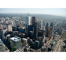 Looking Northeast from the CN Tower Main Pod Observation Deck Photographic Print