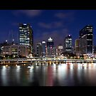 Brisbane panorama by Richard Majlinder
