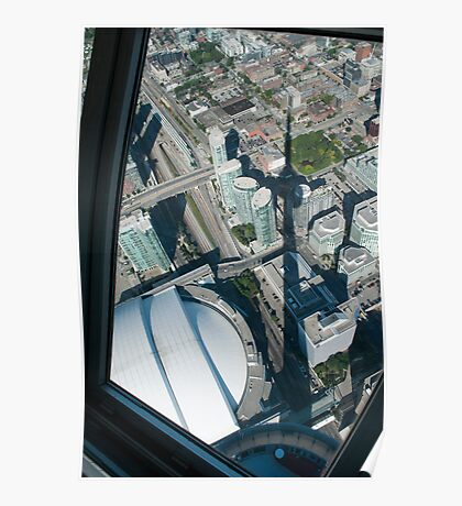 The Shadow of the Tower from the Skypod Poster