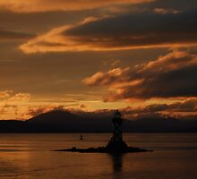 River Clyde Sunset, Port Glasgow by Sarahwatson