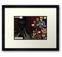The Iron Knight - Issue #01: Teaser Pt1 Framed Print