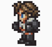 Squall Leonhart sprite - FFRK - Final Fantasy VIII (FF8) One Piece - Short Sleeve