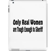 Sheriff iPad Case/Skin