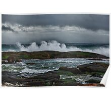 Stormy Afternoon At Prevelly II Poster
