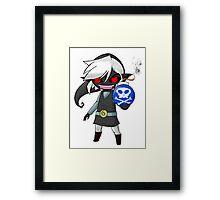 Dark Toon Link Framed Print