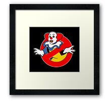 Ghostbusters (Pennywise) Framed Print