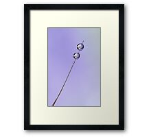 Simple Framed Print