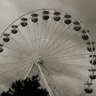 Ferris Wheel at the Seaside by Britta Döll
