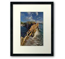 Whiritoa Gap Framed Print