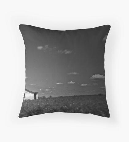 Sharecropper's Home Throw Pillow