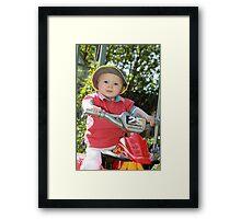 On your bike Part 2 Framed Print