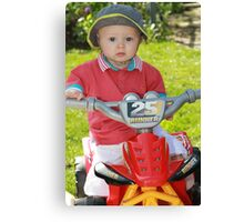 On your bike Part 3 Canvas Print