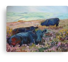 Heather Bed Canvas Print