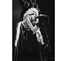 Stevie Nicks (graphite drawing) Photographic Print