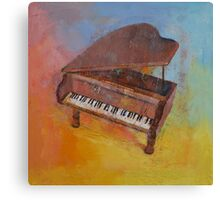 Toy Piano Canvas Print