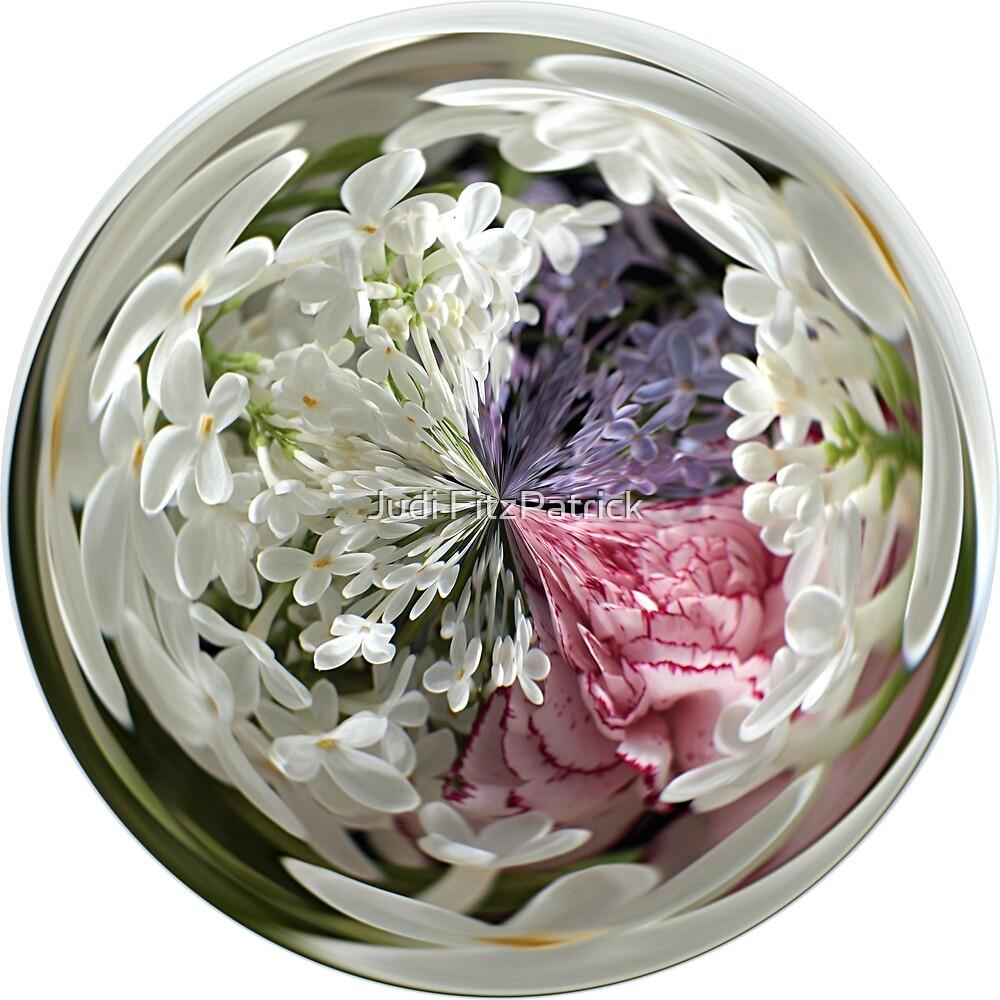 Spring Bouquet Under Glass by Judi FitzPatrick